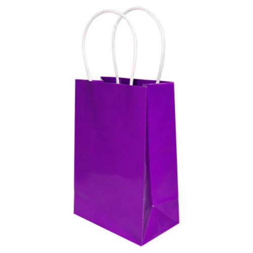 Gift Bags  Paper Small Gift Bag Purple Image