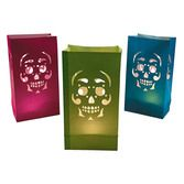 Day of the Dead Decorations Day of the Dead Luminary Bags Image