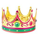 Mardi Gras Hats & Headwear King's Crown (velcro) Image