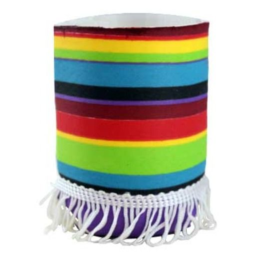 Cinco de Mayo Table Accessories Poncho Can Covers Image