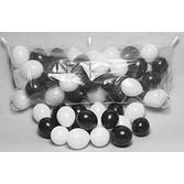 New Years Balloons Balloon Bag with Black and White Balloons Image