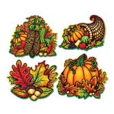 Thanksgiving Decorations Autumn Splendor Cutouts Image
