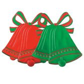 Christmas Decorations Foil Christmas Bell Cutout Image