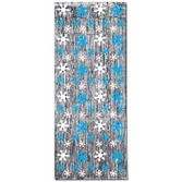 Christmas Decorations Snowflake Metallic Curtain Image