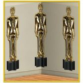 Awards Night & Hollywood Decorations Awards Night Statue Backdrop Image