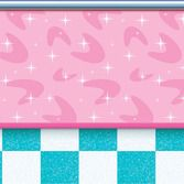 Fifties Decorations Soda Shop Backdrop Image