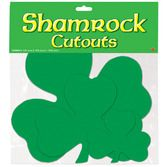 St. Patrick's Day Decorations Shamrock Cutouts Image