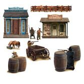 Western Decorations Wild West Shootout Props Image