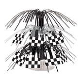 Birthday Party Decorations Checkered Flag Mini Cascade Centerpiece Image