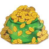 St. Patrick's Day Decorations Pot of Gold Standup Image