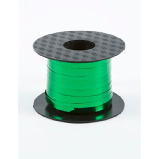 St. Patrick's Day Balloons Mylar Curling Ribbon Green Image