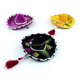 Cinco de Mayo Decorations Mini Velvet Mariachi Sombrero Image
