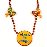 Cinco de Mayo Party Wear Cinco de Mayo Maraca Necklace Image