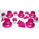 New Years Party Kits Pink Passion for 50 Image