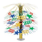 New Years Decorations 2014 Cascade Centerpiece Image
