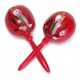 Cinco de Mayo Favors & Prizes Red Maracas Image
