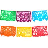 Wedding Decorations Wedding Papel Picado Banner - Multicolor Image