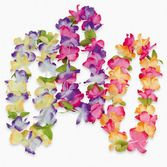 Luau Party Wear Mahalo Flower Lei Image