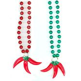 Cinco de Mayo Party Wear Three Pepper Necklace Image
