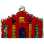 Cinco de Mayo Decorations Alamo Tin Ornament Image