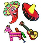 Cinco de Mayo Decorations Cinco de Mayo Cutouts Image