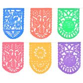 Cinco de Mayo Decorations Papel Picado Mexican Party Flags Image