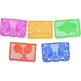 Cinco de Mayo Decorations Jumbo Papel Picado Banner Image