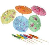 Luau Favors & Prizes Parasol Picks Image