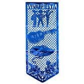 Cinco de Mayo Decorations Medium Metallic Fiesta Mural Image