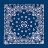 Western Party Wear Economy Blue Bandana Image