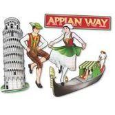 International Decorations Italian Cutouts Image