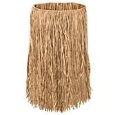 Luau Party Wear Adult Natural Raffia Hula Skirt Image