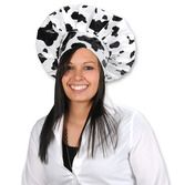 Western Hats & Headwear Cow Print Chef's Hat Image