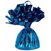 4th of July Balloons Blue Metallic Balloon Weight Image