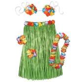 Luau Party Wear Child Hula Outfit Image