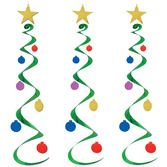 Christmas Decorations Christmas Tree Whirls Image