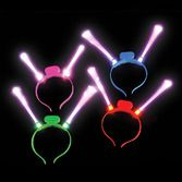 New Years Glow Lights LED Fiber Optic Headband Image