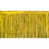 New Years Decorations Gold Metallic Fringe Drape Image