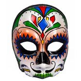 Day of the Dead Party Wear Day of the Dead Male Mask Image
