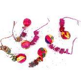 Cinco de Mayo Decorations Wicker Ball Spiral Dangler Image