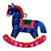 Cinco de Mayo Decorations Rocking Horse Tin Ornament Image