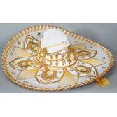 Cinco de Mayo Hats & Headwear White and Gold Mariachi Sombrero Image