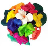 Cinco de Mayo Decorations Multicolor  Hortencia Cornhusk Flowers Image