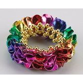 New Years Party Wear Rainbow Leaf Bracelet Image