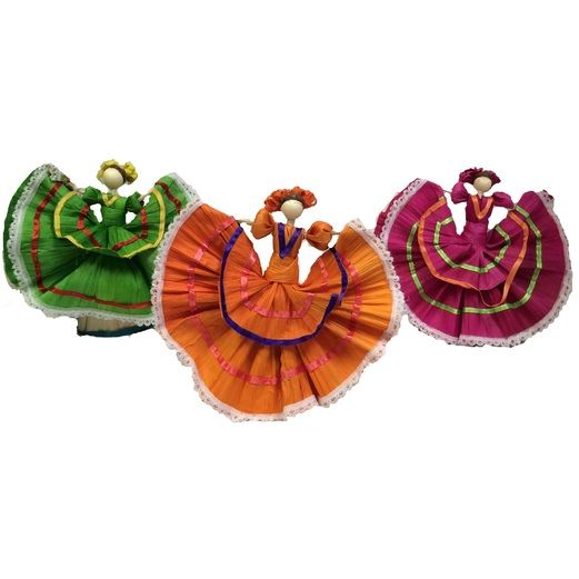 Cinco de Mayo Decorations Extra Small Folklorico Dancer Image