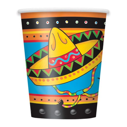 Cinco de Mayo Table Accessories Fiestivity Cups Image