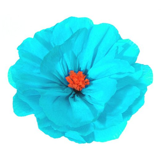 Cinco de Mayo Decorations Rachel's Light Blue Flower Image
