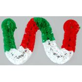 Cinco de Mayo Decorations Small Red, White, and Green Plastic Garland Image
