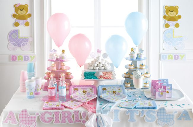 Elegant Baby Shower Party Supplies