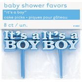 "Baby Shower Favors & Prizes ""It's A Boy"" Picks Image"